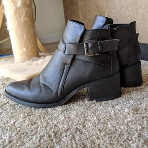 MIA Pointed Toe Booties
